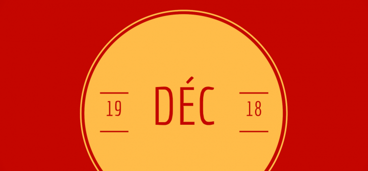 Noël dans le département de francais